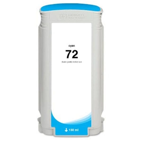 INSTEN HP 72 Cyan Ink Cartridge (Remanufactured)