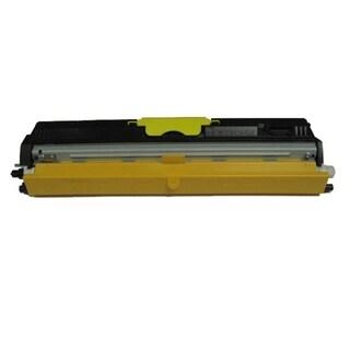 Insten Premium Yellow Color Toner Cartridge A0V306F for MagiColor 1600/ 1650/ 1680