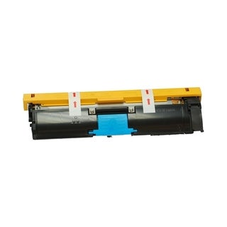 Insten Premium Cyan Color Toner Cartridge 1710587-007 for MagiColor 2400/ 2430/ 2450