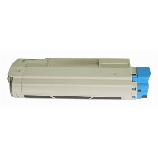 Insten Premium Black Color Toner Cartridge 44315304 for OKI C610