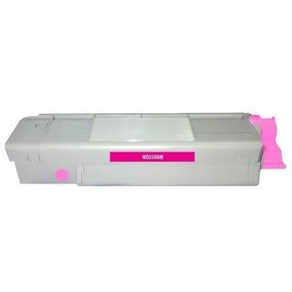 Insten Premium Magenta Color Toner Cartridge 43324402 for OKI C5500/ C5650/ C5800