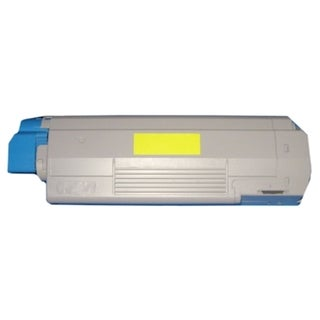 BasAcc Yellow Toner compatible with Okidata C6150/ C6150n