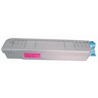 Insten Premium Magenta Color Toner Cartridge 44059110 for Okidata C830