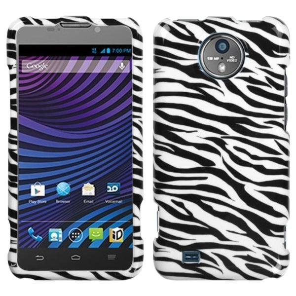 INSTEN Zebra Skin Phone Case Cover for ZTE N9810 Vital