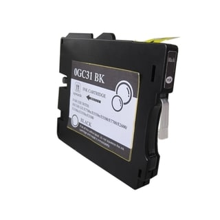 INSTEN Ricoh GC31/ GC31HBK Compatible Black Ink Cartridge