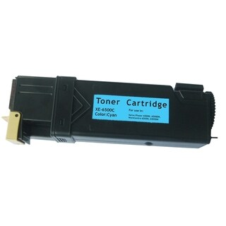 Insten Premium Cyan Color Toner Cartridge WC6505/ 106R01594/ 106R1591 for Xerox Phaser 6500/ 6500n