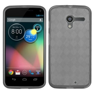 BasAcc Smoke Argyle Pane Candy Skin Case for Motorola Moto X