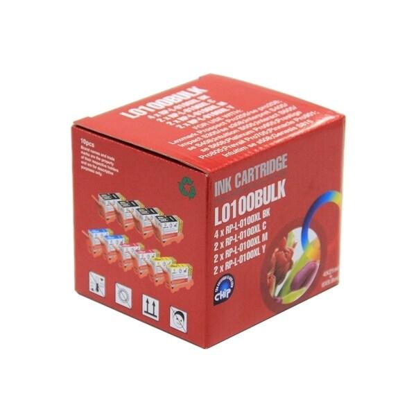 INSTEN Lexmark 100XL Compatible 10-ink Cartridge Set