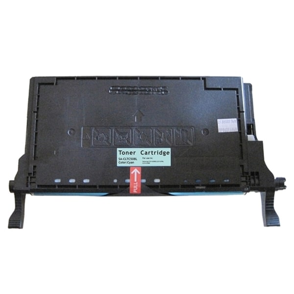 Insten Premium Cyan Color Toner Cartridge CLT-C508S/ L for Samsung CLP-620/ 670