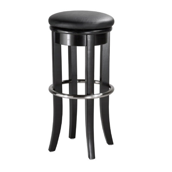 Home Styles 30 Inch Black Bar Stool