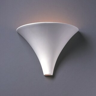 1-light Flare Ceramic Sconce