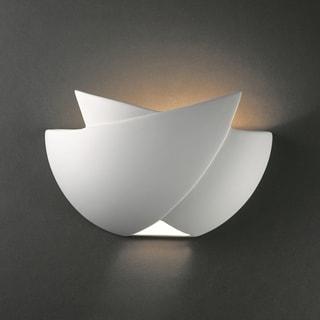 Justice Design Group 1-light ADA Fema Ceramic Sconce