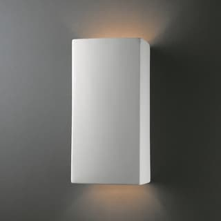 Justice Design Group 2-light Multi Directional Rectanglular Ceramic Sconce
