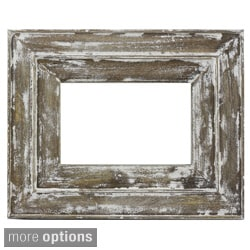 Distressed Wood Photo Frame (India)