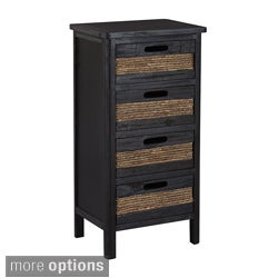 Gallerie Decor Bali Four-drawer Cabinet