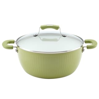 Paula Deen Savannah Collection Pear Aluminum Nonstick 5.5-Quart Covered Casserole