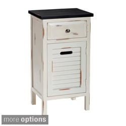Gallerie Decor Shoreham One-drawer One-door Accent Cabinet