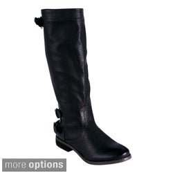 Blossom 'Jayne-1' Women's Double Bands Knee-high Boots