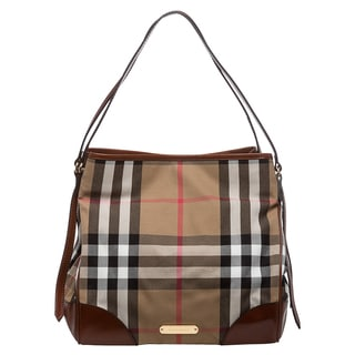 Burberry Bridle House Check Medium Canterbury Tote