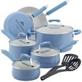 Paula Deen Savannah Collection Blueberry Aluminum Nonstick 12-piece Cookware Set