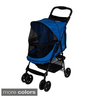 Pet Gear Happy Trails Emerald No-zip Pet Stroller