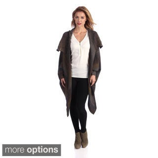 Women's 'Emily' Draped Dolman Sleeve Cardigan