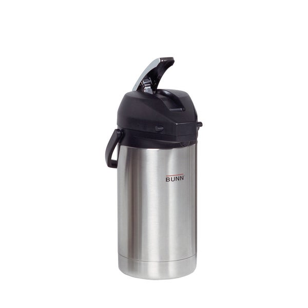 Bunn 32130 3-liter Lever-Action Stainless Steel Airpot