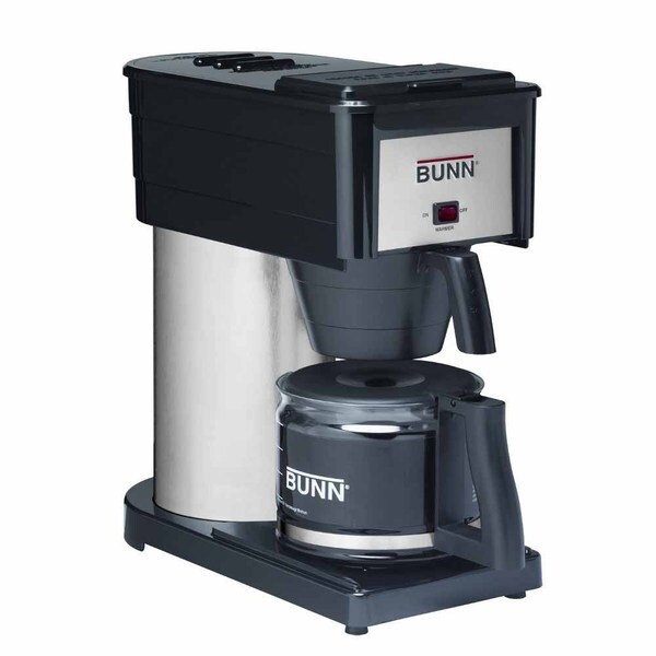 Bunn BXBD Black Velocity Brew High Altitude 10-cup Home Brewer Coffee Maker 11753122