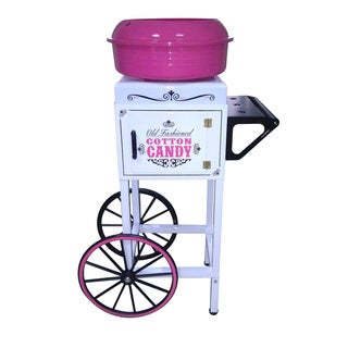Nostalgia Electrics CCM510 Vintage Collection Hard & Sugar-Free Candy Cotton Candy Cart