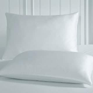 Restonic Luxury White Anti-static Spa Pillow Protector (Set of 2)