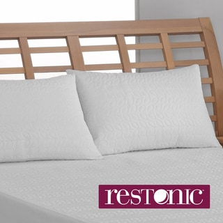 Restonic Peva Waterproof Bed Pillow Protector (Set of 2)