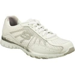 Women's Skechers Eclipsed White/Silver