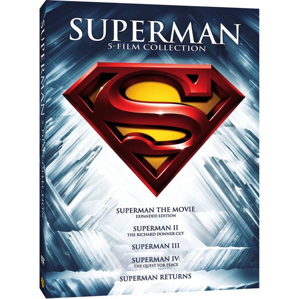 Superman 5 Film Collection (DVD) 11753662