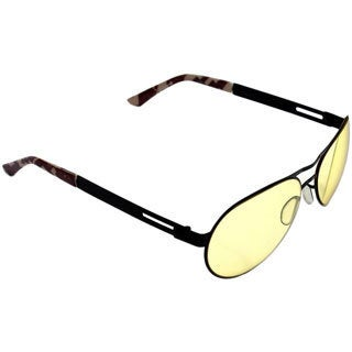 Gamers Edge Black Camo Aviator Gaming Sunglasses