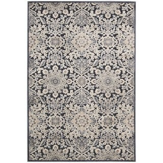 kathy ireland Home Bel Air Charcoal Area Rug (7'9 x 9'9)
