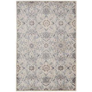 kathy ireland Home Bel Air Grey Area Rug (3'6 x 5'6)