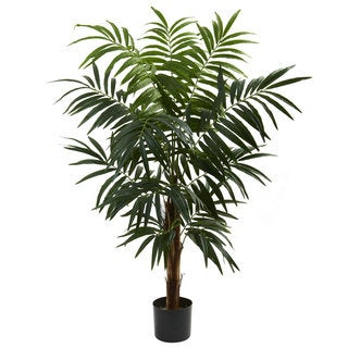 Nearly Natural 4.5-foot Bulb Areca Tree Decorative Plant