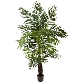 Nearly Natural 6-foot Areca Palm Tree Decorative Plant