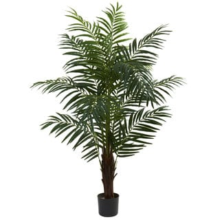 Nearly Natural 5-foot Areca Palm Tree Decorative Plant