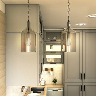 Corsica 1-light Chrome Mini Pendant