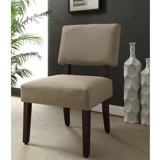 Linen Tan Accent Chair