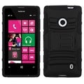BasAcc Black/ Black Case with Stand for Nokia Lumia 521