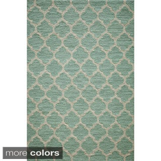 Hand-hooked Casablanca Polyester Area Rug (3'6 x 5'6)