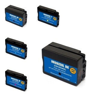 HP 932XL 5-ink Cartridge Set (Remanufactured)