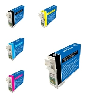 INSTEN Epson WorkForce 435 5-ink Cartridge Set (Remanufactured)