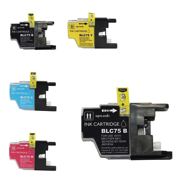 INSTEN Brother LC-75/ LC-71 5-ink Cartridge Set