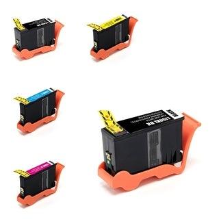 INSTEN Lexmark 150XL 5-ink Cartridge Set