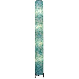 Eangee Sea Blue Banyan 4-light Giant Floor Lamp