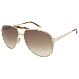 Gucci Men's GG2206 UV-Resistant Aviator Sunglasses