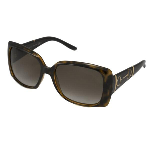 Gucci Women's GG3537 Rectangular Sunglasses